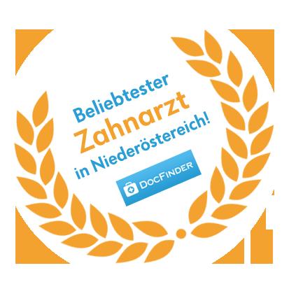 Beliebtester Zahnarzt in Niederösterreich